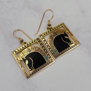 Laurel Burch Equus Horse Earrings